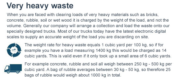 docklands rates of waste clearance